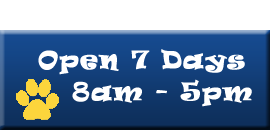 Open 7-Days - 8am - 5pm